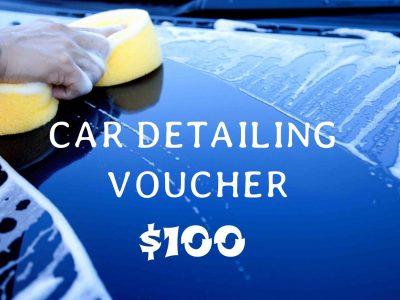 $100 car detailing voucher